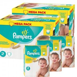 Maxi Pack 440 Couches Pampers new baby - premium protection sur 123 Couches
