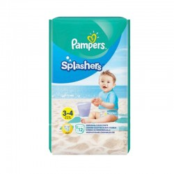 Pack 12 Couches de bains Pampers Splashers taille 3 sur 123 Couches