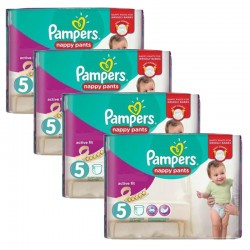 Giga Pack 160 Couches Pampers Active Fit Pants taille 5