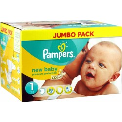 Pack 280 Couches Pampers New Baby taille 1