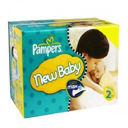 Giga pack 217 Couches Pampers New Baby Premium Protection taille 2