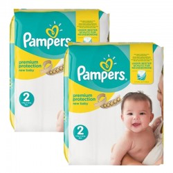 Maxi mega pack 434 Couches Pampers New Baby Premium Protection taille 2