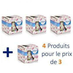 Pack d'une quantité de 4 Bougies Parfumées Febreze de la gamme Flower Bloom - 4 au prix de 3 sur 123 Couches