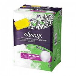 Pack 30 Serviettes hygiéniques d'Always Discreet de taille Large sur 123 Couches